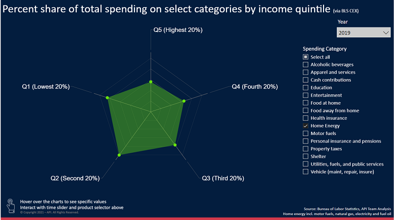 U.S. Consumer Expenditure Burden by Income Level