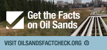 facts on oil sands logo
