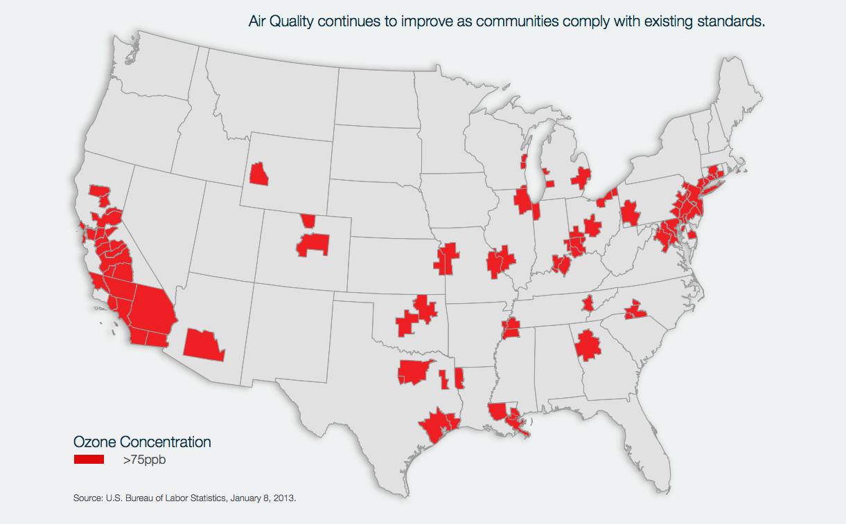 Api the facts on naaqs national ambient air quality standards air quality continues to improve as communities comply with existing standards map freerunsca Gallery