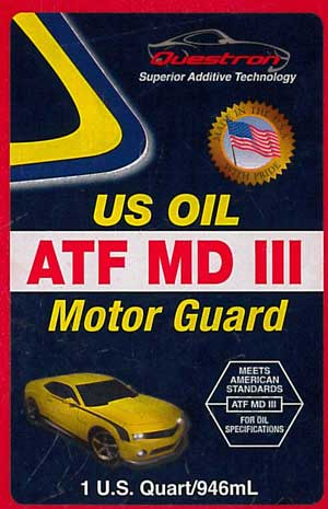 questron counterfeit US OIL ATF MD III Motor Guard