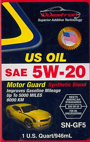 questron counterfeit U.S. Oil Motor Guard Synthetic Blend