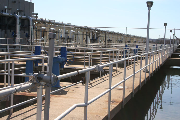 Blue Plains Water Treatment Facility Visit