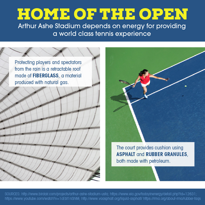 NY Home of the Open Tennis Shareable
