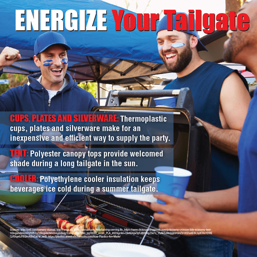 Alabama Energize Your Tailgate Shareable