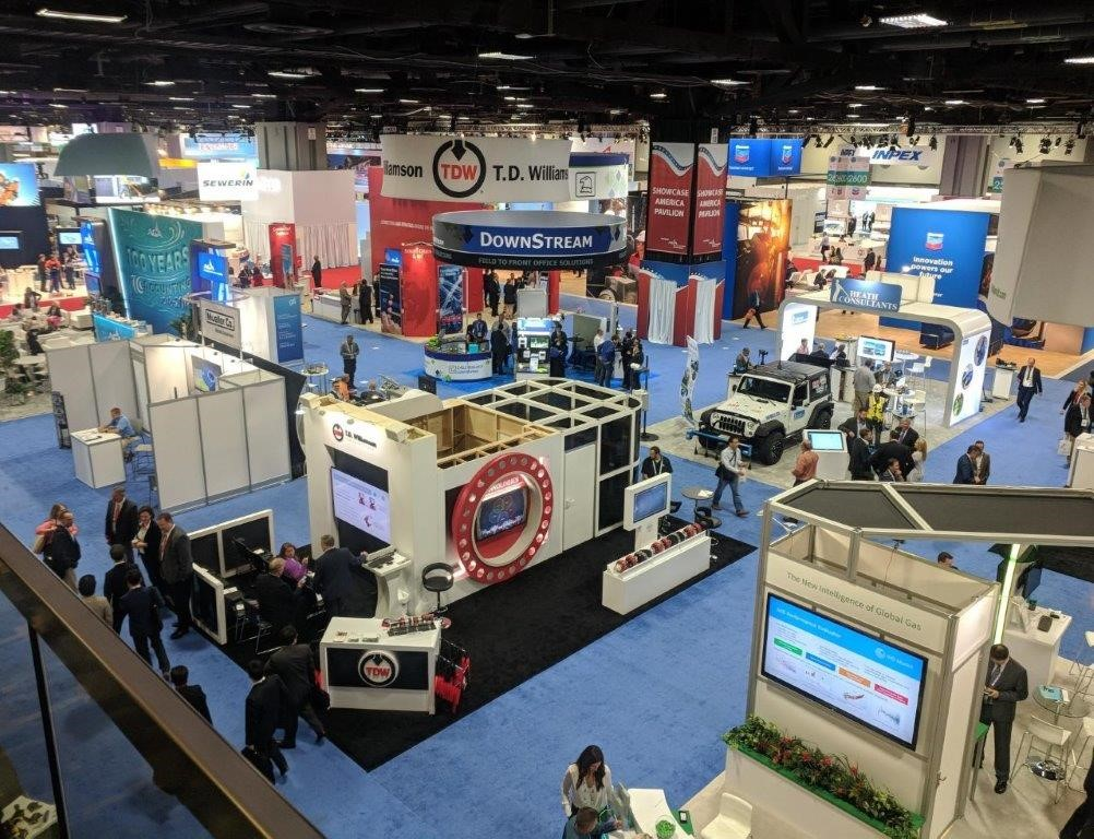 world gas conference exhibit hall