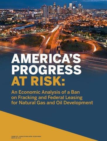 Api Fracking Ban Could Cripple U S New Study Finds