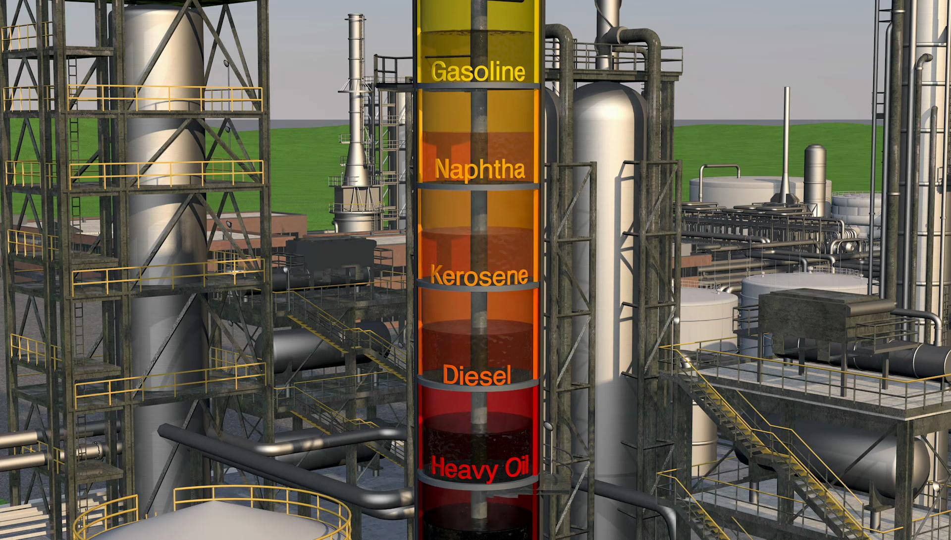 Natural Gas Refining Process