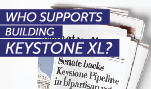 Who Supports Building Keystone XL?