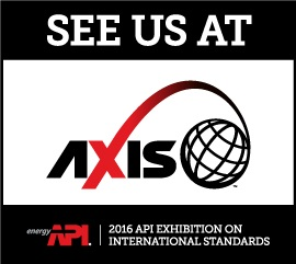 API Exhibition on International Standards (AXIS) 2016
