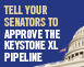 Tell your senators to approve Keystone XL pipeline